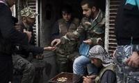 ประเทศต่างๆขนส่งรถทหารหนักให้กับกองกำลังฝ่ายต่อต้านในซีเรีย