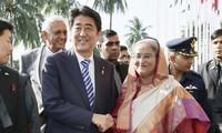 นายกรัฐมนตรีญี่ปุ่นเยือนประเทศศรีลังกาอย่างเป็นทางการ
