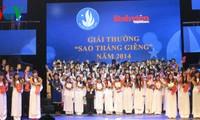 รำลึกครบรอบ 65 ปี วันนักเรียนนักศึกษาและสมาคมนักศึกษาเวียดนาม 9 มกราคม