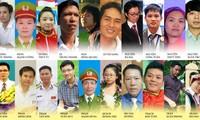 ประกาศรายชื่อเยาวชนเวียดนามดีเด่น 10 คนประจำปี 2014
