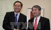 ญี่ปุ่นและสาธารณรัฐเกาหลีเห็นพ้องที่จะรื้อฟื้นการสนทนาด้านความมั่นคง