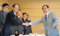 ญี่ปุ่นและจีนเห็นพ้องที่จะส่งเสริมการแลกเปลี่ยนในด้านต่างๆ