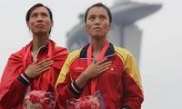 เวียดนามยังคงอยู่ในอันดับที่3ของตารางสรุปเหรียญรางวัลซีเกมส์ครั้งที่ 28