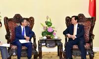 นายกรัฐมนตรี เหงวียนเติ๊นหยุง ให้การต้อนรับเอกอัครราชทูตญี่ปุ่น