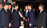 นายกรัฐมนตรี เหงวียนเติ๊นหยุง เดินทางถึงกรุงโตเกียว ประเทศญี่ปุ่น