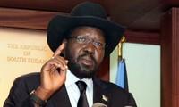 ประธานาธิบดีซูดานใต้สั่งให้กองทัพหยุดยิง
