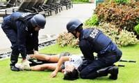 สิงคโปร์ทำการฝึกซ้อมต่อต้านการก่อการร้าย