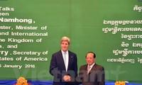 รัฐมนตรีว่าการกระทรวงการต่างประเทศสหรัฐเยือนกัมพูชา