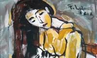 """งานนิทรรศการภาพวาดในหัวข้อ """"ดอกไม้แห่งเวียดนาม""""เพื่อสำนึกในบุญคุณของสตรี"""