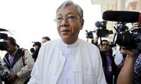 พม่ามีประธานาธิบดีคนใหม่