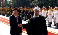 กระชับความสัมพันธ์มิตรภาพและความร่วมมือระหว่างเวียดนามกับอิหร่าน