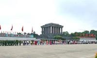 กิจกรรมฉลองครอบรอบ 126ปีวันคล้ายวันเกิดของประธานโฮจิมินห์ทั้งภายในและต่างประเทศ