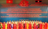 ผลักดันให้ความสัมพันธ์ร่วมมือในทุกด้านระหว่างเวียดนามกับลาวพัฒนาขึ้นสู่ขั้นสูงใหม่