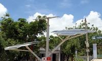 ก่อสร้างโรงไฟฟ้าพลังงานแสงอาทิตย์ ณ จังหวัดนิงถ่วน