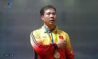 นักกีฬายิงปืนหว่างซวนวิงอยู่ในรายชื่อ๑๐นักกีฬาที่มีผลงานที่ดีที่สุดในโอลิมปิก๒๐๑๖