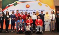 พิธีสดุดีนักกีฬาที่เข้าร่วมการแข่งขันโอลิมปิกและพาราลิมปิก ริโอ 2016