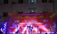 กิจกรรมฉลองตรุษเต๊ตของชมรมชาวเวียดนามที่อาศัยในต่างประเทศ