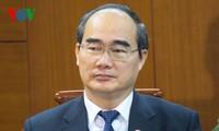 ประธานแนวร่วมปิตุภูมิเวียดนาม : ส่งเสริมพลังอันเข้มแข็งของกลุ่มมหาสามัคคีชนในชาติเพื่อพัฒนาประเทศ