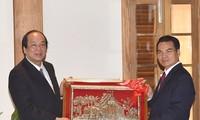 กระชับความร่วมมือระหว่างสำนักรัฐบาลเวียดนามกับสำนักนายกรัฐมนตรีลาว