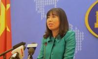 เวียดนามแก้ไขปัญหาการพิพาทในทะเลตะวันออกด้วยสันติวิธีบนพื้นฐานของกฎหมายสากล
