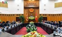 นายกรัฐมนตรีเวียดนามเจรจากับนายกรัฐมนตรีศรีลังกา