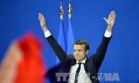 นาย เอมมานูเอล มาครงและนาง มารีน เลอ แปน ผ่านเข้าร่วมการเลือกตั้งประธานาธิบดีฝรั่งเศสรอบที่ 2