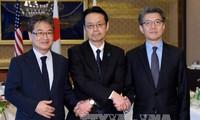 สหรัฐ ญี่ปุ่นและสาธารณรัฐเกาหลีหารือเกี่ยวกับโครงการนิวเคลียร์ของสาธารณรัฐประชาธิปไตยประชาชนเกาหลี