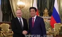 ความสัมพันธ์รัสเซีย-ญี่ปุ่นกำลังมีความคืบหน้า