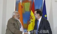อินเดียและสเปนสนับสนุนการแก้ไขปัญหาการพิพาทในทะเลตะวันออกตามกฎหมายสากล