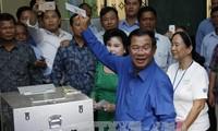 พรรครัฐบาลและพรรคฝ่ายค้านรับรองผลการเลือกตั้งสมาชิกสภาประชาชนระดับตำบลและแขวงกัมพูชา