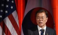 """ประธานาธิบดีสาธารณรัฐเกาหลีประกาศ """"ความคิดริเริ่มเกี่ยวกับสันติภาพบนคาบสมุทรเกาหลี"""""""