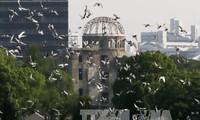 ญี่ปุ่นรำลึกครบรอบ72ปีวันสหรัฐทิ้งระเบิดปรมาณูใส่เมืองฮิโระชิมะ