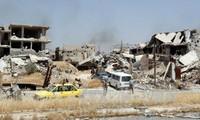 ซีเรียเรียกร้องให้สหประชาชาติยุบกองกำลังพันธมิตรนานาชาตินำโดยสหรัฐ