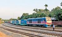 พิธีเปิดขบวนรถไฟคอนเทนเนอร์สายกวางโจว์ ประเทศจีน-เอียนเวียน เวียดนามจะมีขึ้นในวันที่ 11 สิงหาคม