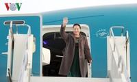 ประธานสภาแห่งชาติเหงวียนถิกิมเงินพบปะกับเจ้าหน้าที่สถานทูตและชมรมชาวเวียดนามใประเทศคาซัคสถาน