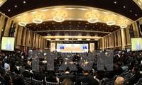 ประธานประเทศเจิ่นด่ายกวางเข้าร่วมและกล่าวปราศรัยเปิดการประชุมสุดยอดสถานประกอบการเอเปก 2017
