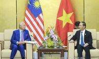 ประธานประเทศเจิ่นด่ายกวางพบปะกับผู้นำเศรษฐกิจสมาชิกเอเปกที่เข้าร่วมการประชุมผู้นำเเปก 2017