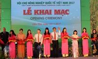 เปิดงานแสดงสินค้าการเกษตรนานาชาติเวียดนาม 2017