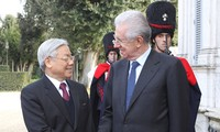 Party General Secretary Nguyen Phu Trong concludes his state visit to Italy