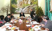President Sang attended the 10th session of the Central Steering Committee on Judicial Reform