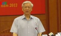Party chief calls for determination to fight corruption