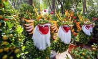 Flower markets in Ho Chi Minh city open