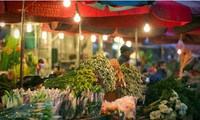 Hanoi flower markets at Tet