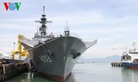 Japanese ship Kunisaki docks at Da Nang Tien Sa port