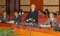 Party leader Nguyen Phu Trong urges to finalize documents for the 12th National Party Congress