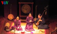 Concert of traditional Vietnamese music