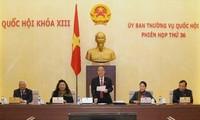 NA's Standing Committee debates draft laws