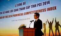 Da Nang tops PCI 2014 ranking