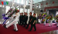 Funeral service held for pilots who died on training