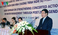 ASEM seminar on water management closes in Ben Tre